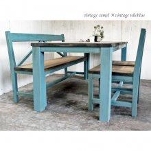 無垢材 ダイニングテーブルセット フレンチカントリー DS-027