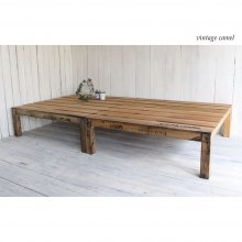 無垢材 ベッド 折りたたみ 木製ベッド       BD-001