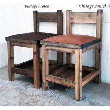 無垢材 本革チェアー  飲食店椅子 店舗用チェアー CS-055
