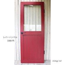 アンティーク風ドア 無垢材ドア 木製ガラス扉 ANGELA SD-080