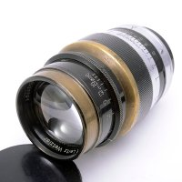 <img class='new_mark_img1' src='https://img.shop-pro.jp/img/new/icons15.gif' style='border:none;display:inline;margin:0px;padding:0px;width:auto;' />LEICA ライカ Leitz Hektor ヘクトール 73mmF1.9 L ブラック&ニッケル
