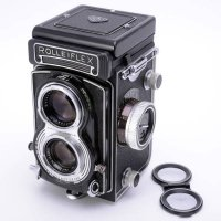 <img class='new_mark_img1' src='https://img.shop-pro.jp/img/new/icons15.gif' style='border:none;display:inline;margin:0px;padding:0px;width:auto;' />ROLLEIFLEX ローライフレックス T Tessar テッサー 75mmF3.5