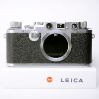 <img class='new_mark_img1' src='https://img.shop-pro.jp/img/new/icons15.gif' style='border:none;display:inline;margin:0px;padding:0px;width:auto;' />LEICA ライカ バルナック�f 3f BD ブラックダイヤル 1951年製 + 革ケース
