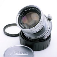 <img class='new_mark_img1' src='https://img.shop-pro.jp/img/new/icons15.gif' style='border:none;display:inline;margin:0px;padding:0px;width:auto;' />LEICA ライカ Summicron ズミクロン 50mmF2 沈胴 M + UVaフィルター