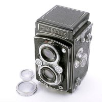 <img class='new_mark_img1' src='https://img.shop-pro.jp/img/new/icons15.gif' style='border:none;display:inline;margin:0px;padding:0px;width:auto;' />ROLLEIFLEX ローライフレックス AUTOMAT オートマット Type2 Tessar テッサー 75mmF3.5 1937年