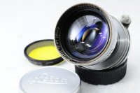 <img class='new_mark_img1' src='https://img.shop-pro.jp/img/new/icons15.gif' style='border:none;display:inline;margin:0px;padding:0px;width:auto;' />LEICA ライカ Summitar 戦後コーテッド ズミタール 50mmF2 L +イエローフィルター