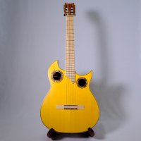 <img class='new_mark_img1' src='https://img.shop-pro.jp/img/new/icons50.gif' style='border:none;display:inline;margin:0px;padding:0px;width:auto;' />アンダルシアンギター Francisco Simplicio 1932 / Tulipwood(Yellow) with Zero Fret System