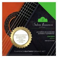 """<img class='new_mark_img1' src='https://img.shop-pro.jp/img/new/icons14.gif' style='border:none;display:inline;margin:0px;padding:0px;width:auto;' />""""concierto"""" Flamenco Guitar Strings, Medium Tension (Green Label)"""