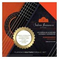 "<img class='new_mark_img1' src='https://img.shop-pro.jp/img/new/icons14.gif' style='border:none;display:inline;margin:0px;padding:0px;width:auto;' />""acompa&#241;amiento"" Flamenco Guitar Strings, Medium Hard Tension (Orange Label)"