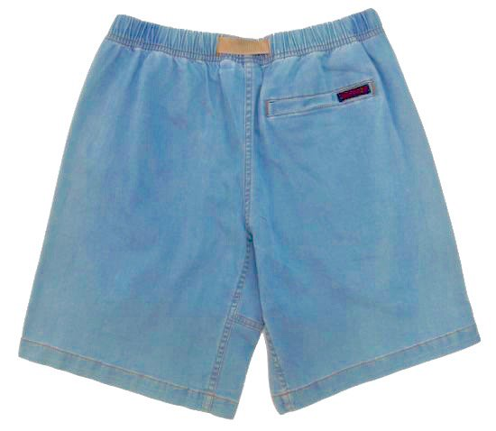イメージ:GRAMiCCi Women's Lt Denim Zip G-Shorts (HARD USED)1