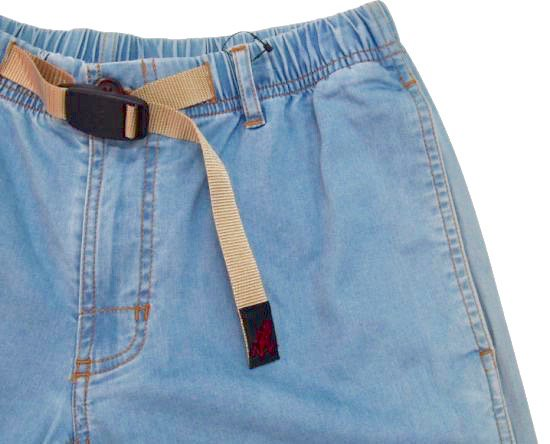 イメージ:GRAMiCCi Women's Lt Denim Zip G-Shorts (HARD USED)2