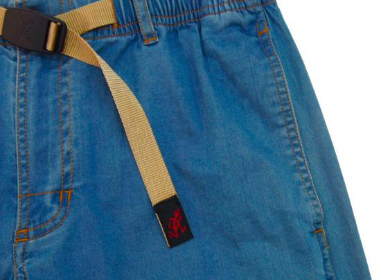 イメージ:GRAMiCCi Women's Lt Denim Zip G-Shorts (MEDIUM USED)2