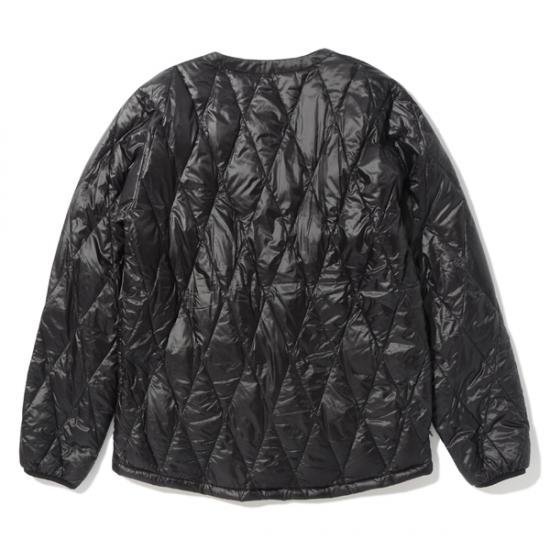 イメージ:CHALLENGER-QUILTING DOWN CARDIGAN(CLG-JK 016-009)(COLOR:BLACK)1