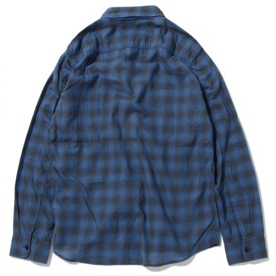 イメージ:CHALLENGER-CHECK SHIRT(CLG-SH 017-005)(COLOR:NAVY)1