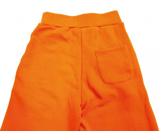 イメージ:irojikake WIDE SWEAT PANTS(ORANGE)1