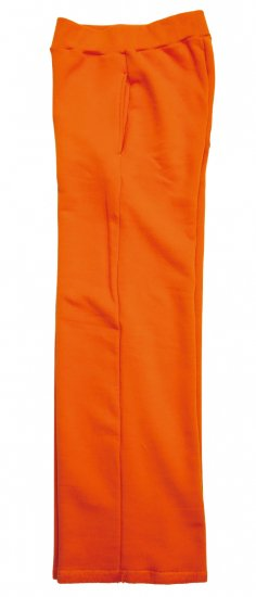 イメージ:irojikake WIDE SWEAT PANTS(ORANGE)2
