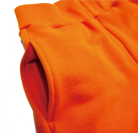 イメージ:irojikake WIDE SWEAT PANTS(ORANGE)3