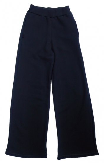イメージ:irojikake WIDE SWEAT PANTS(BLACK)