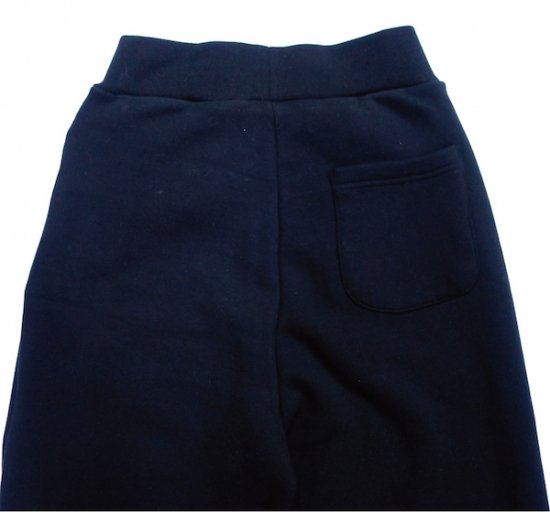 イメージ:irojikake WIDE SWEAT PANTS(BLACK)1