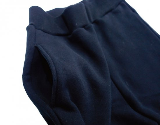イメージ:irojikake WIDE SWEAT PANTS(BLACK)3