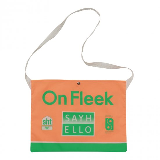 イメージ:SAYHELLO Trucking Musette (Safety Orange)