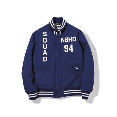 イメージ:NBHD-STADIUM / WE-JKT(172AQNH-JKM06)(COLOR:BLACK,BLUE)