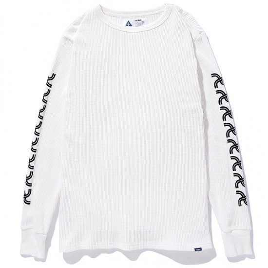 イメージ:CHALLENGER-L/S PRINTED THERMAL(CLG-CS- 018-019)(COLOR:WHITE)