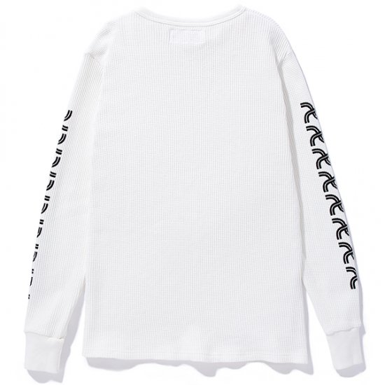 イメージ:CHALLENGER-L/S PRINTED THERMAL(CLG-CS- 018-019)(COLOR:WHITE)1