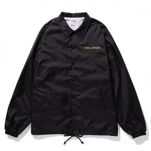 イメージ:CHALLENGER-SHADOW COACH JACKET(CLG-JK 018-015 )(COLOR:BLACK)1