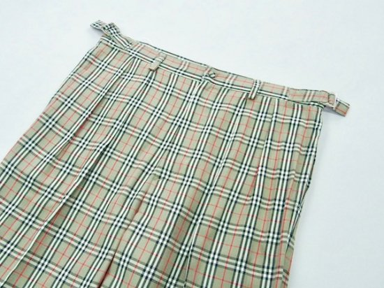 イメージ:irojikake Check pants(GREEN)1