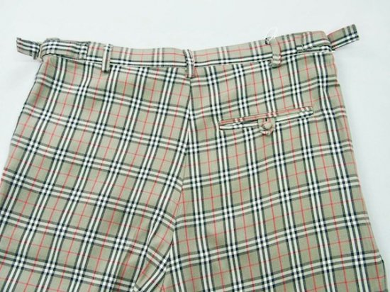 イメージ:irojikake Check pants(GREEN)2