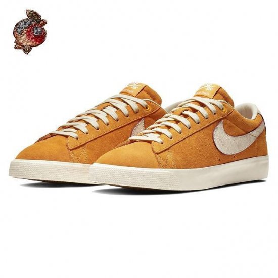 "イメージ:NIKE SB BLAZER LOW GT QS ""Home State Georgia""(CIRCUIT ORANGE/NATURAL)716890-8161"