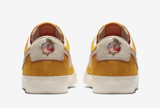 "イメージ:NIKE SB BLAZER LOW GT QS ""Home State Georgia""(CIRCUIT ORANGE/NATURAL)716890-8163"