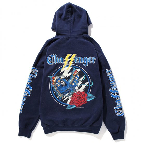 イメージ:CHALLENGER-SHADOW HOODIE (CLG-CS 018-016)(COLOR:NAVY)