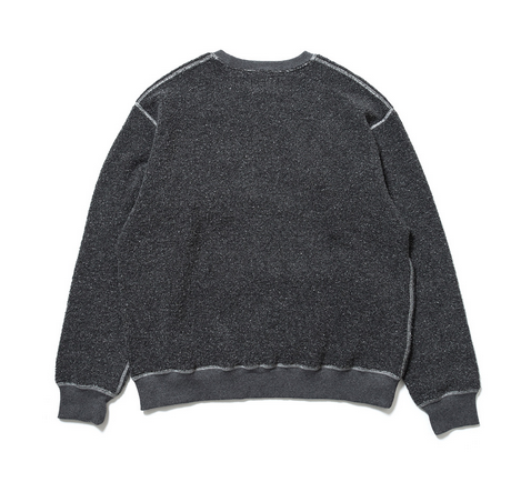イメージ:SON OF THE CHEESE INSIDE OUT CREW(BLACK)1