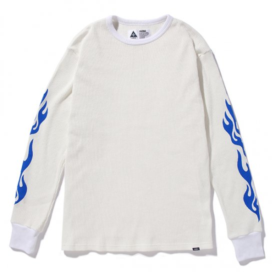 イメージ:CHALLENGER-FLAME THERMAL(CLG-CS-019-019)(COLOR: WHITE)