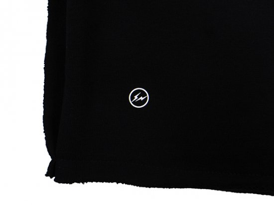 イメージ:AKA SIX×FRAGMENT DESIGN-NO FRGMT PATCH JUMP SHORTS (COLOR:BLACK)3