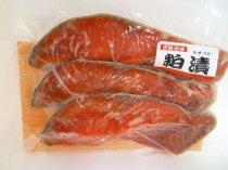 川石水産 紅鮭本粕漬け【3切】