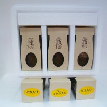 瓶ドン3本セット(ウニイクラ・イカ・タコ)