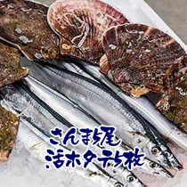 <img class='new_mark_img1' src='//img.shop-pro.jp/img/new/icons15.gif' style='border:none;display:inline;margin:0px;padding:0px;width:auto;' />C生さんま直送便(生さんま4尾+活ホタテ特大4枚)