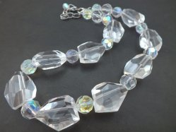 Clear Parts Necklace