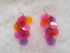 Tropical Beads Pierced Earring