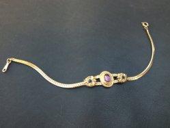 Gold+3 Stones Bracelet