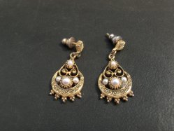 Exotic Drop Pierced Earring
