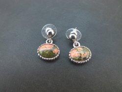Pink+Green Pierced Earring