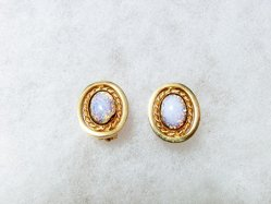 Oval Sparkle Earring