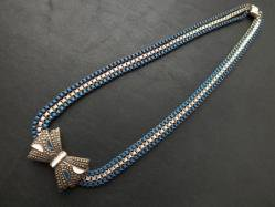 1920s Ribbon Necklace