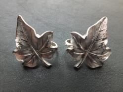 Trifari Leaf Earring