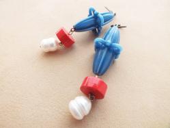Space Pierced Earring