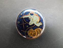 1980s Spacewalk Pin